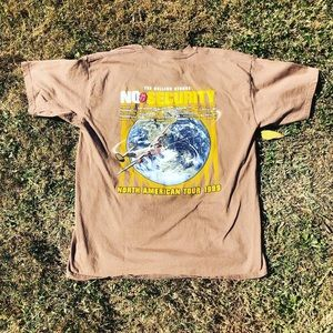 1999 Rolling Stones No Security North American t